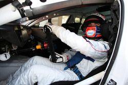 Robert Kubica, BMW Sauber F1 Team conduit la BMW 320i WTCC