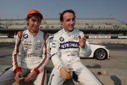 Esteban Gutiérrez, Josef Kaufmann Racing y Robert Kubica, BMW Sauber F1 Team