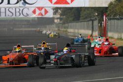 Esteban Gutierrez, Josef Kaufmann Racing et Jim Pla, DAMS Team