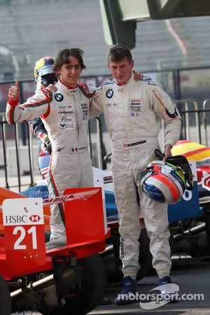 Esteban Gutierrez, Josef Kaufmann Racing, Michael Christensen, Josef Kaufmann Racing