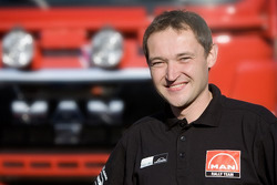 MAN Rally Team: Artur Klein, mechanic truck 2