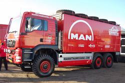 MAN Rally Team presentation: MAN Rally truck