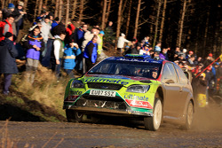 Mikko Hirvonen and Jarmo Lehtinen, Ford World Rally Team Ford Focus RS WRC