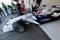 Démonstration de conduite avec Robert Kubica, BMW Sauber F1 Team