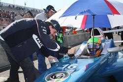 Robert Kubica, BMW Sauber F1 Team et Alexander Rossi, Eurointernational