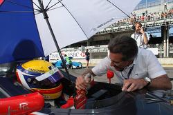 Jim Pla, DAMS Team et Dr. Mario Theissen, BMW Sauber F1 Team, BMW Motorsport Director