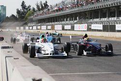 Départ: Gabriel Chaves, Euro Junior Team, Facundo Regalia, Josef Kaufmann Racing