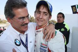 La troisième place pour Esteban Gutierrez avec Dr. Mario Theissen