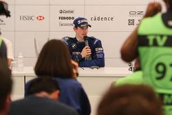 Conférence de presse: World Final le vainqueur Alexander Rossi