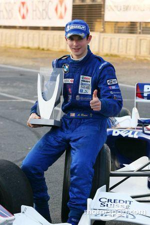 Séance photo: le vainqueur du World Final Alexander Rossi