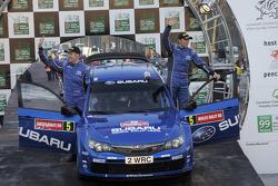 Podium: 4ème place pour Petter Solberg et Phil Mills
