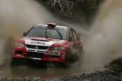 Guy Wilks et Phil Pugh, Mitsubishi Lancer Evo IX