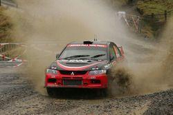 Fumio Nutahara et Danier Barritt, Mitsubishi Lancer Evo X