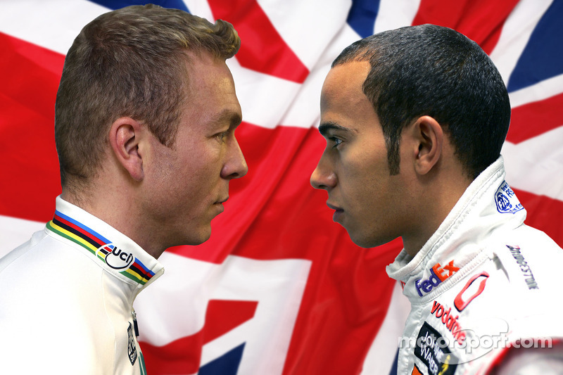 Man vs Machine: Beijing Olympic Gold Medallist Chris Hoy and F1 World Champion Lewis Hamilton will go head to head
