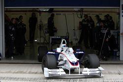 Nick Heidfeld, BMW Sauber F1 Team, voiture intermédiaire 2009