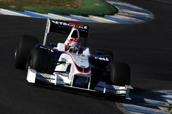Robert Kubica, BMW Sauber F1 Team, voiture interim 2009- test à Jerez