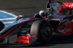Pedro de la Rosa, pilote d'essai, McLaren Mercedes, interim 2009
