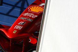 Scuderia Ferrari, l'avant de la voiture