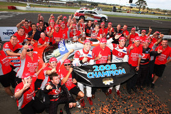 Jamie Whincup, TeamVodafone champions de 2008