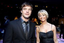 FIA World Rally champion Sébastien Loeb with is wife
