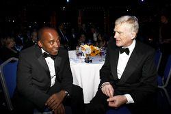 Anthony Hamilton and FIA President Max Mosley