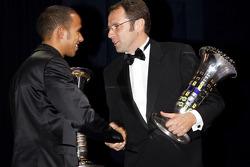 FIA Formula 1 World champion Lewis Hamilton, and FIA Formula 1 World Championship winning constructo