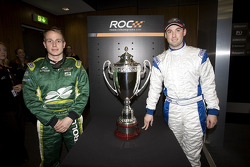 Adam Carroll and Gareth McHale