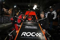 Michael Schumacher se prepara en un RX150 Buggy