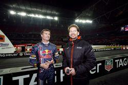 David Coulthard avec Frederik Johnson