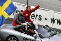 Présentation des pilotes: Mattias Ekström et Tom Kristensen, Team Scandinavia
