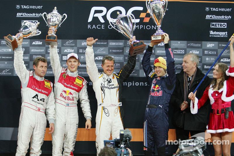 Nations Cup 2008 : Allemagne (Michael Schumacher et Sebastian Vettel)
