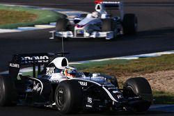 Nico Hulkenberg, pilote d'essai WilliamsF1 Team, Christian Klien, pilote d'essai BMW Sauber F1