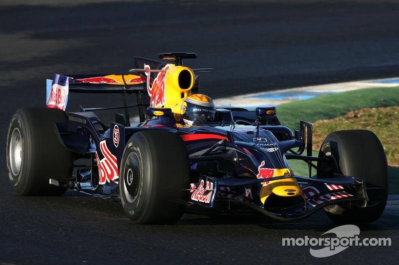 Em 2008, Coulthard e Webber seguiram na Red Bull