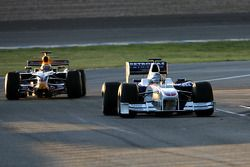 Nick Heidfeld, BMW Sauber F1 Team, Brendon Hartley, piloto de pruebas, Red Bull Racing