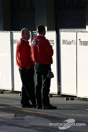 Bridgestone technicians