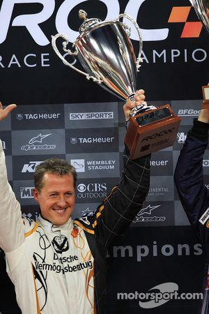 Finale: le vainqueur de la Nations Cup Michael Schumacher