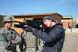 Arie Luyendyk Jr. visits U.S. troops in Iraq