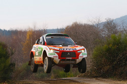 Repsol Mitsubishi Ralliart Team: Nani Roma and Lucas Cruz Senra