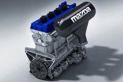 Le moteur Mazda MZR-R pour les American Le Mans Series et Le Mans Series