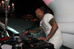 David Morales, DJ at the Indian Empress Fly Kingfisher Closing Party