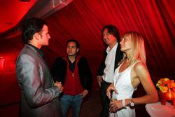 Vitantonio Liuzzi Force India F1 Üçüncü Pilotu, Fly Kingfisher Yat Partisi