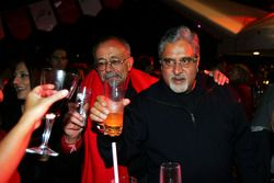 Dr Vijay Mallya Force India F1 Team Owner at the Fly Kingfisher Boat Party