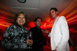 Adrian Sutil Force India F1 at the Fly Kingfisher Boat Party