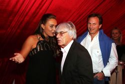 Tamara Ecclestone Sky Sport Television Presenter with Dad Bernie Ecclestone F1 Supremo and Christian