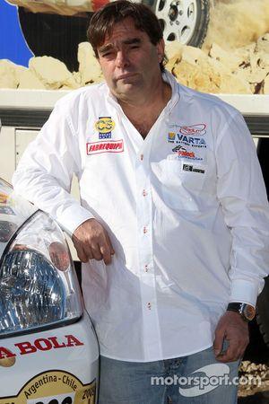 Equipa Padock: le pilote Francisco Pita