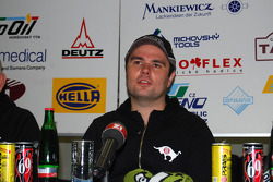 Loprais Tatra Team presentation: driver Ales Loprais during the press conference