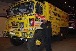 Loprais Tatra Team service truck at scrutineering
