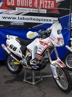 Fret-Motorsport: the Fret-Motorsport Yamaha 450cc of David Barrot