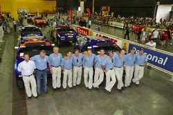 Fotos de estudio del Volkswagen Motorsport: el director Kris Nissen, Wolfgang Hatz (Jefe del grupo