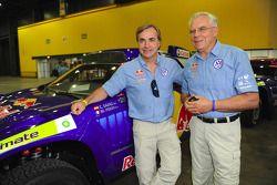 Carlos Sainz y Dr Ulrich Hackenberg